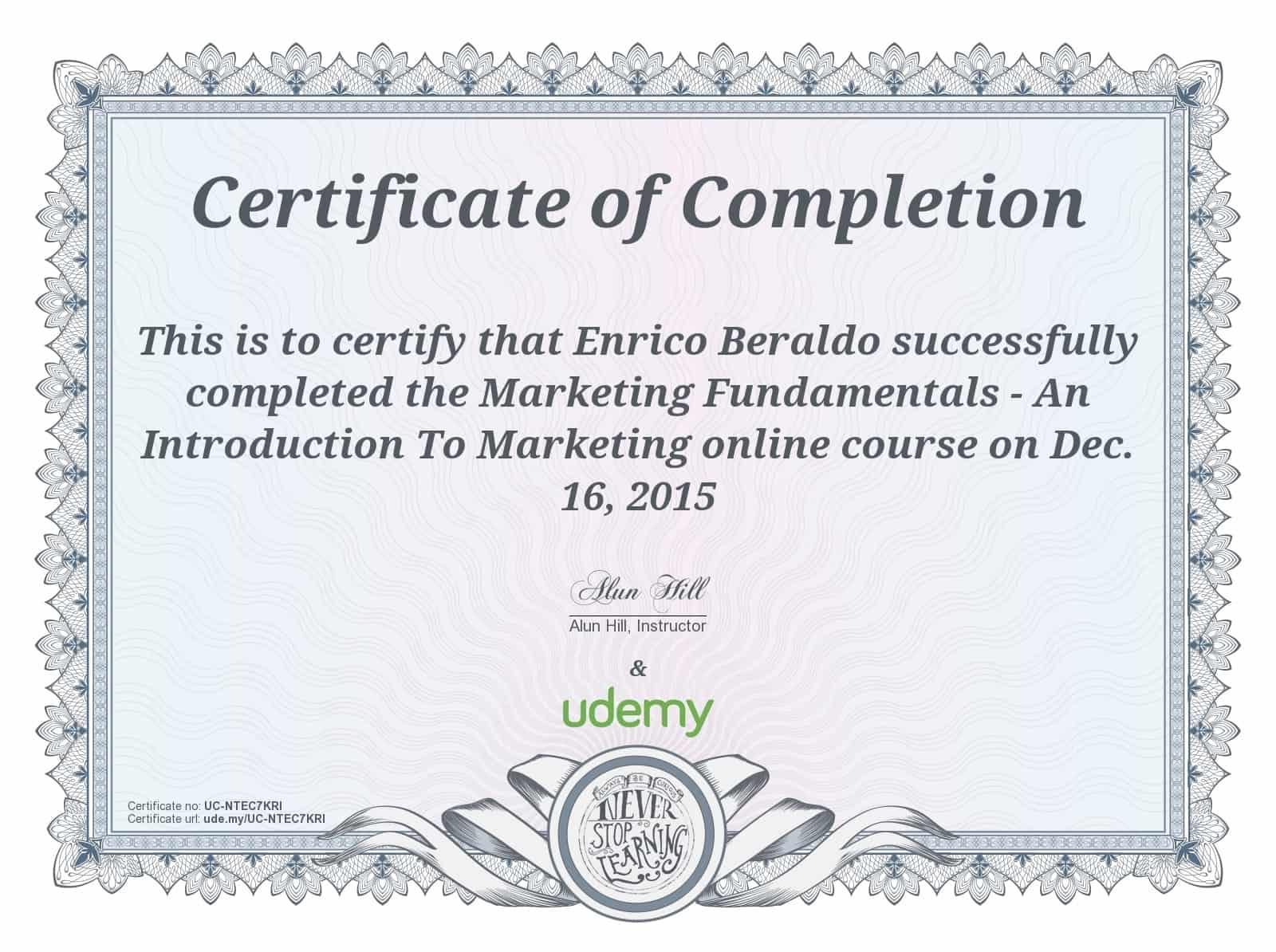 Corso in online marketing