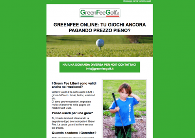 Campagne email per ecommerce